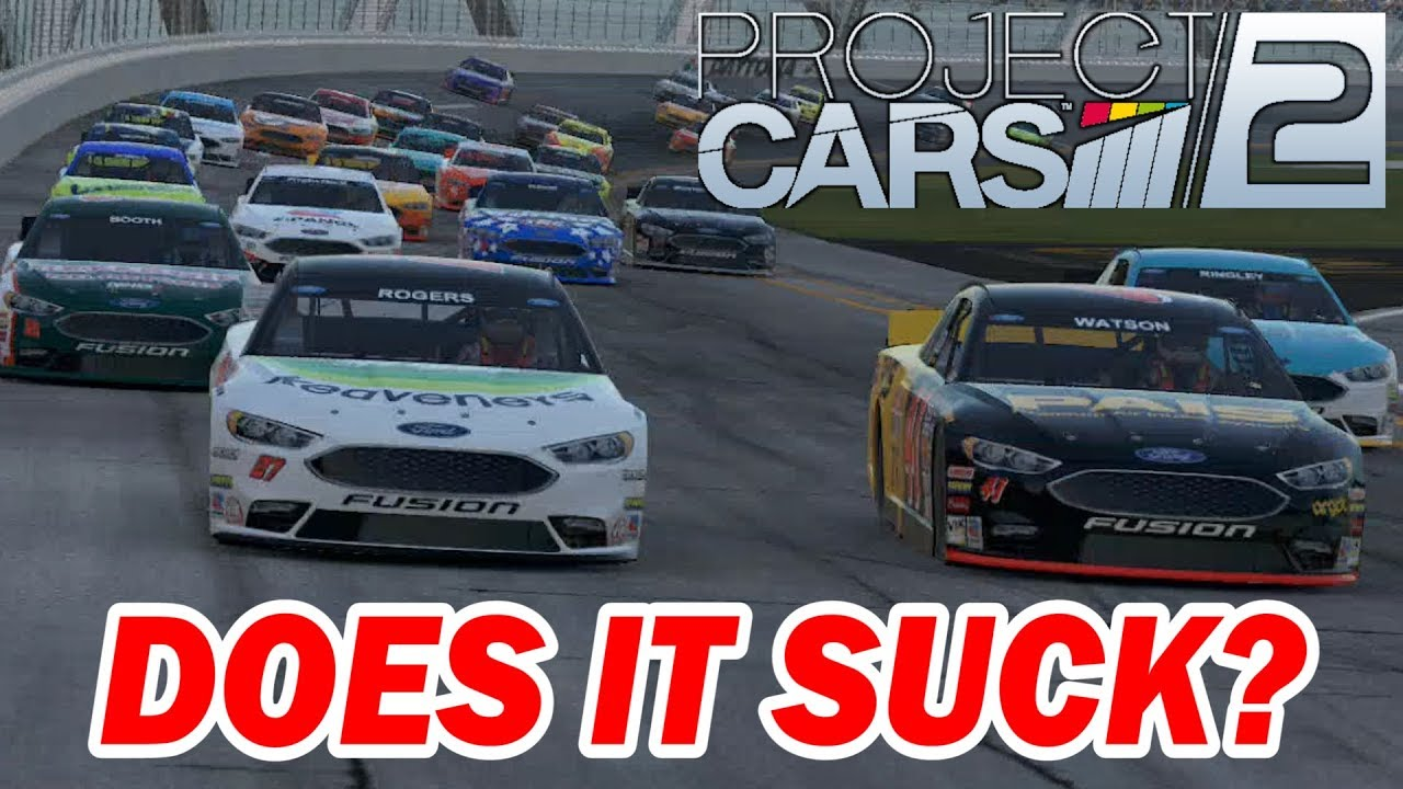 Project CARS 2 -- NASCAR Oval Racing -- Does It Suck? - YouTube
