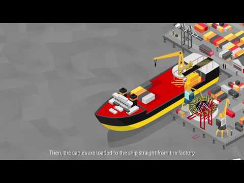 How submarine cables are laid – Vodafone Carrier Services