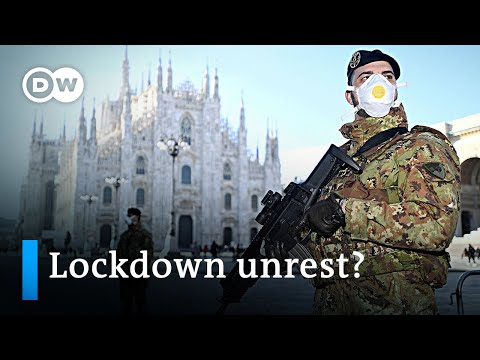 Ongoing Coronavirus lockdown in Italy grows fear of unrest | DW News