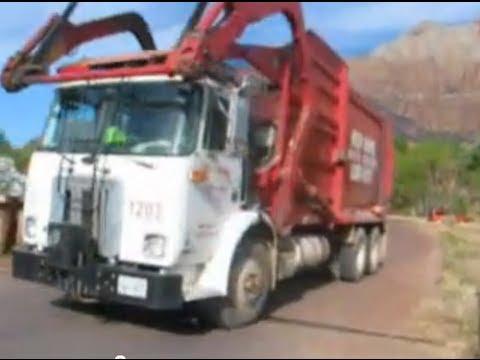 Utah Garbage Trucks Part 3-Autocar/Wittke
