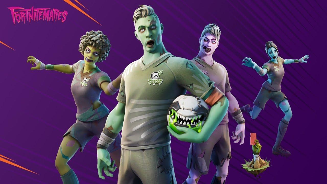Fortnite Zombie Soccer Skins