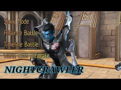 [MFF] Tier-2 Nightcrawler (X-Force) Gameplay