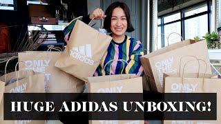 Huge Adidas Unboxing Haul | Laureen Uy