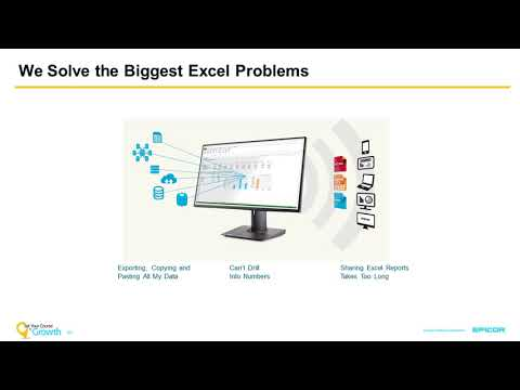 Empowering Analysts, Enabling Users with Epicor XL Connect 7 Webinar