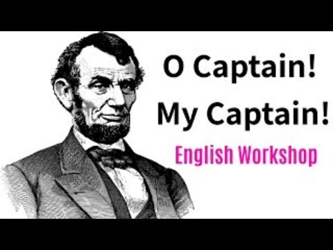 O Captain My Captain English Workshop 10th Class SSC Board