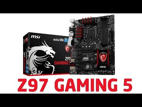 MSI Z97 Gaming 5 Motherboard - Evetech South Africa