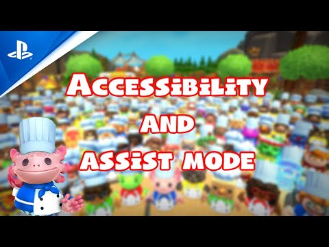 Overcooked! All You Can Eat - Accessibility Options and Assist Mode Trailer | PS5