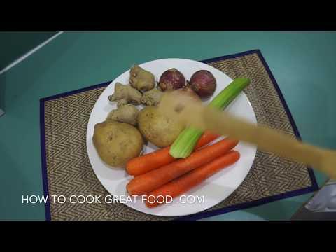 Carrot & Ginger Soup Recipe - Easy n Vegan