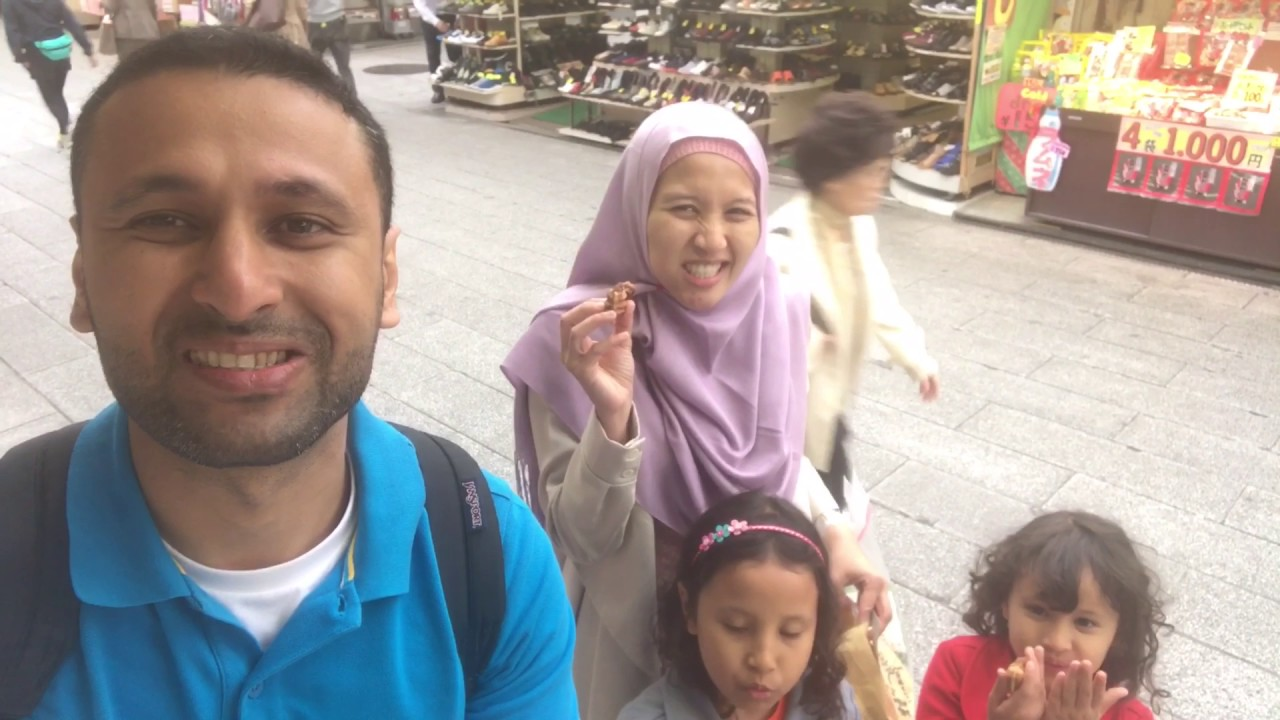 Japan Muslim Family Tripepisode Tokyo