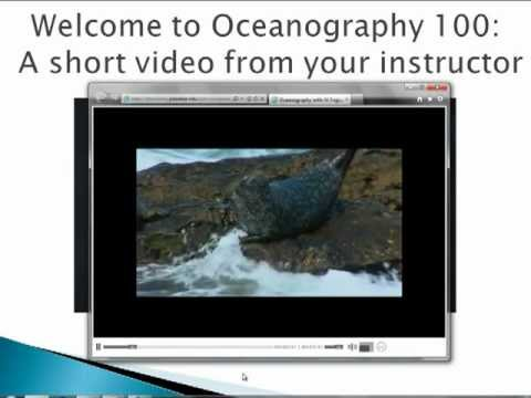 Introduction to Oceanography 100 Online