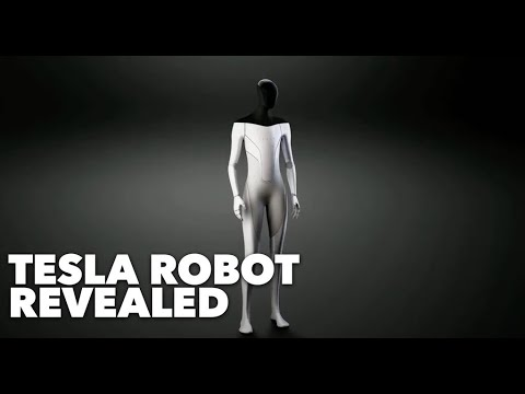 Tesla Robot Revealed