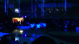 Pow wow theme release assembly
