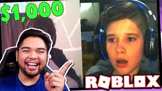 REACTING TO TOFUU DONATING $1,000 TO ROBLOX TWITCH STREAMERS!!!