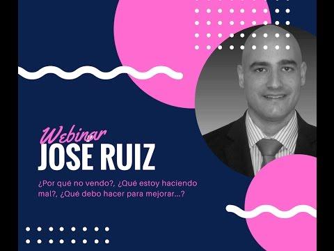 ¿Por qué no vendo? José Ruiz te da todas las claves para conseguir un negocio eficaz