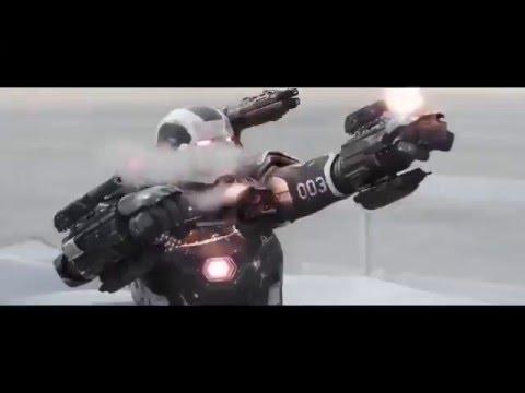 Captain america civil war trailer spider man War Machine