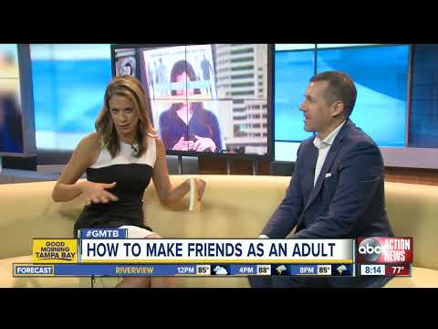 Tampa business leader pens book on how adults can increase their friends list