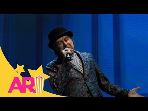 Joaquín Sabina sufre una caída durante concierto en Madrid