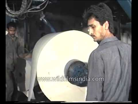 Newspaper printing process in India