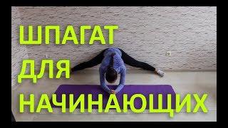 КАК СЕСТЬ НА ПОПЕРЕЧНЫЙ ШПАГАТ [Slim Body Fitness]