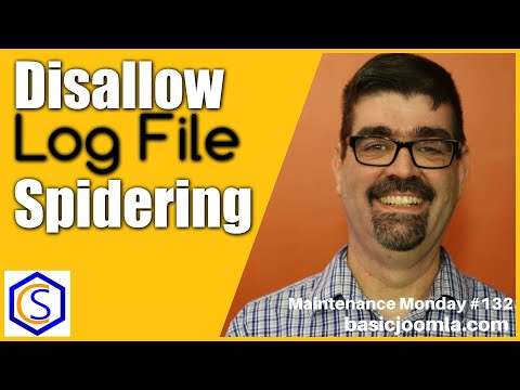 Disallow Spidering Of Log Files In Joomla Robots.txt File 🛠 MM Live Stream #132