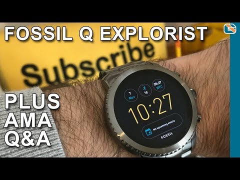 7c52ef09f0194 Fossil Q Explorist Smartwatch plus AMA Q A - YouTube
