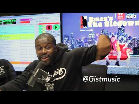 EmEz - Gist Stops By To Talk Fundraising; New Music & His Believers Movement