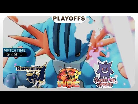 A RAINY DAY! | St. Louis Rampardos VS Slateport Spirits WBE Playoffs  | Pokemon Sun Moon