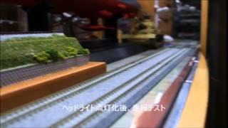 鉄道コレクション 東武鉄道ED5060形電気機関車 ヘッドライト点灯化改造後 テスト走行