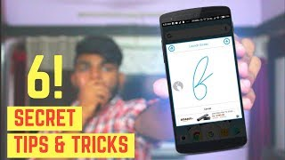 Top 6 Coolest Android Secret Tips and Tricks 2018😎