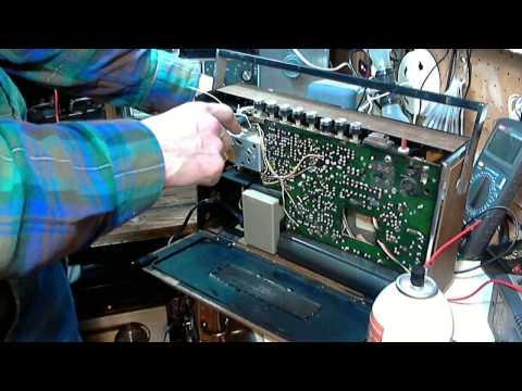 Grundig Transistor 1001 Transistor Radio Video #2 - Repairs