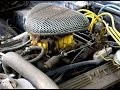 462 Cubic Inch Pontiac Torque Monster in 1969 Firebird beater car started up on 11 year old gas