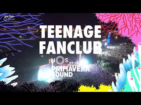 Teenage Fan Club - Live @ NOS Primavera Sound 2017 - Porto, Portugal (Full Show)