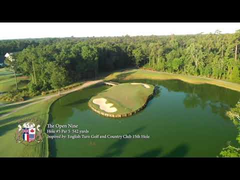 Golf Course Video Tour: The Open Nine at World Tour Golf