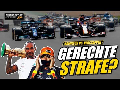 Gerechte Strafe für Hamilton nach Verstappen-Crash? | Formel 1 2021