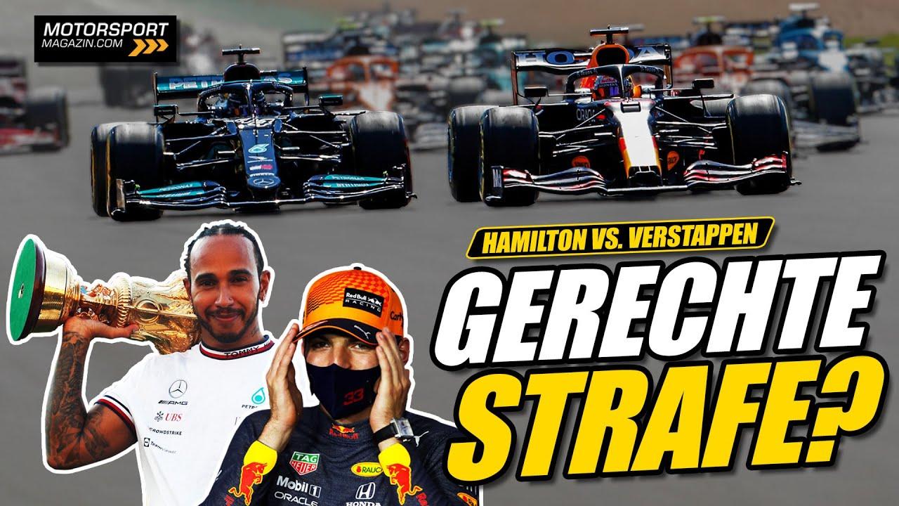 Gerechte Strafe für Hamilton nach Verstappen-Crash?   Formel 1 2021