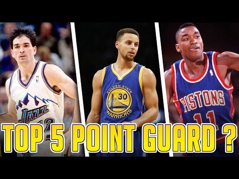 Steph Curry is a Top 5 Point Guard Of ALL-TIME???
