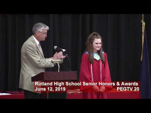 Rutland High School Senior Awards Ceremony 2019