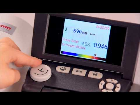 spectronic 200 spectrophotometer thermo scientific youtube rh youtube com