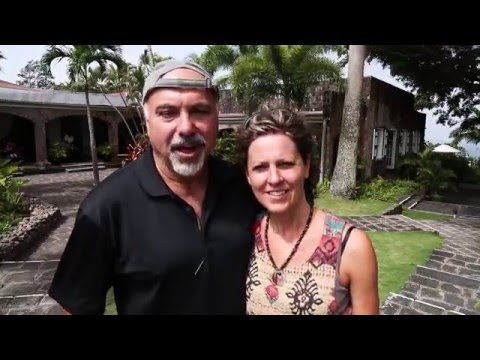 American Travelers visit Montpelier Estates Resort on the island of Nevis in the Caribbean