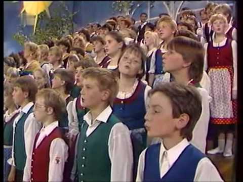 Chorensemble - Mein Vater war ein Wandersmann (Der fröhliche Wanderer) 1985