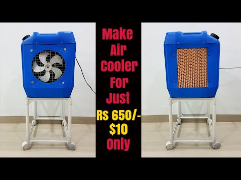How To Make Powerful Air Cooler At Home - Cool Like Air Conditioner