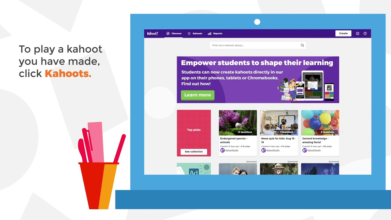 Kahoot! tutorials, guides and help resources