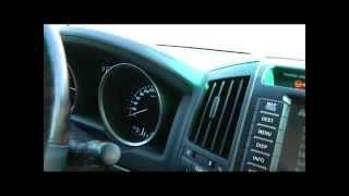 Nissan Patrol 5.6 V8 и Toyota LC 200, 2011