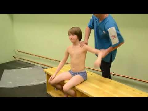 Physical exam for teen ballet boys