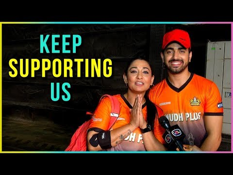 Zain Imam And Shruti Ulfat Asks Fans To SUPPORT Their Team   BCL 2018   Exclusive Interview