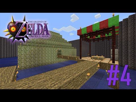 Majoras Mask Legend of Zelda Minecraft Adventure Map - Ep 4 w/Download