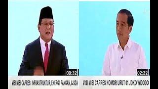 Download Video Debat kedua Capres Pemilu 2019   Visi Misi Calon Presiden   Pilpres 17 feb 2019 MP3 3GP MP4