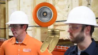 CC Peak Maintenance-Free Ergonomic Swivel Caster Rig