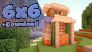 видео: Minecraft 6x6 house - мобильный дом 4.