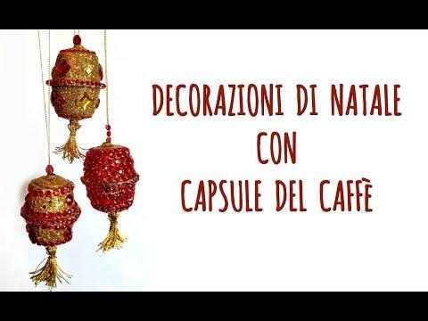 Decorazione di Natale con Capsule del Caffè Riciclate! (Natale/Riciclo Creativo) Arte per Te